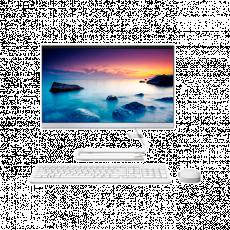 "Sistem All-in-One 21.5 "" Lenovo IdeaCentre 3 22IIL5 White"
