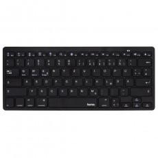 Tastatură Hama KEY4ALL X300 Black, Bluetooth (R1182582)