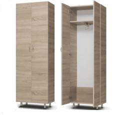Dulap pentru haine Mashtab ( 600 X 340 X 1900 ), Sonoma