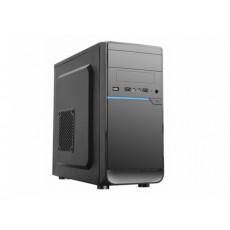 Carcasă HPC D-08, Black/Blue (mATX)