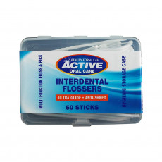 Ata dentara Active Oral Care Oral Care, 50 buc.