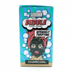 Маска для лица Beauty Formulas  Bubble CARBUNE 10 g, 1 buc