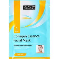 Маска для лица Beauty Formulas  Collagen 10 g, 1 buc