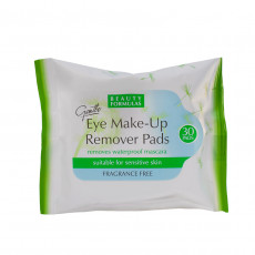 Beauty Formulas Eye Make-Up Remover Pads - Discuri demachiante