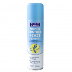 Antiperspirant pentru picioare Beauty Formulas Odour control foot spray, 150 ml