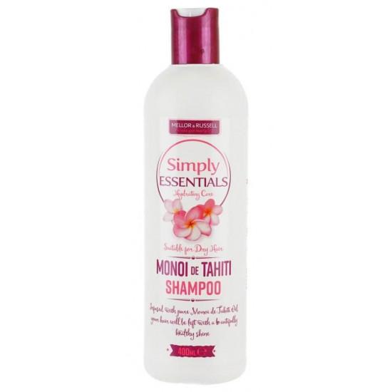 Sampon Simply Essentials Monoi De Tahiti Shampoo, 400 ml