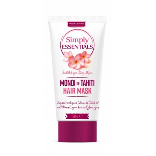Masca p/u par Simply Essentials Monoi De Tahiti, 150 ml