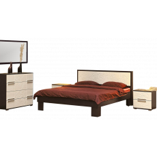 Set dormitor Олмеко Rozalia, венге / Золотой ясень
