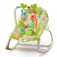 Mattel Fisher Price CBF52 Scaun cu masaj Maimuțele vesele