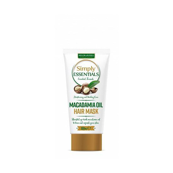 Tratamente si masti de par Simply Essentials Macadamia Oil, 150 ml