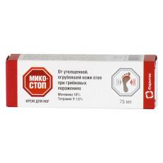 Cremă Micostop pentru picioare antifungic, 75 ml