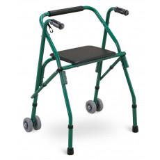 Cadru ortopedic Greetmed GT-137-914L cu scaun și roți