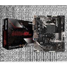 Placă de bază ASROCK B450M-HDV R4.0 (AM4/AMD B450)