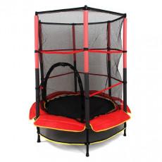 Trambulina Essa Toys ESSA Батут Ø140см / h165см (без лестницы), Черный/ Красный