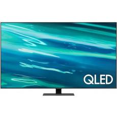 """Телевизор QLED 65 """" SAMSUNG QE65Q80AAUXUA, Black"""