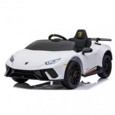 Mașină electrică Chipolino ELKLAHU01WH Lamborghini Huracan, white
