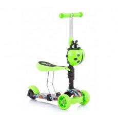 Scooter - bicicletă de echilibru Chipolino Kiddy Evo DSKIE0213GG, green graffiti