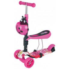 Scooter - bicicletă de echilibru Chipolino Kiddy Evo DSKIE0211LO, lollypop