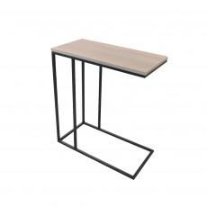 Masă de birou Decoprim Masuta Notebook Slim, Black /Beige