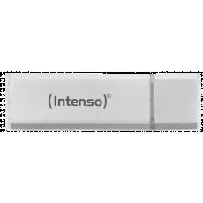 32 GB USB 2.0 Stick USB Intenso, Silver (Aluminium line)