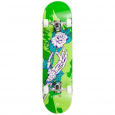 Skateboard PlayLife (Powerslide) Homegrown ( 880281), Зеленый/ Белый/Черный