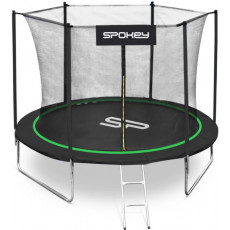 Trambulina Spokey Jumper (927882), Черный/ Зеленый