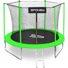 Trambulina Spokey Jumper II (927886), Черный/ Зеленый
