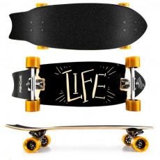 Skateboard Spokey Life (927064), Черный