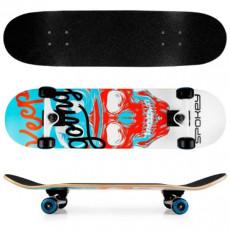 Skateboard Spokey Skalle (927060), Черный