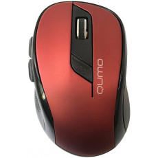 Mouse Qumo M62, Red, Bluetooth
