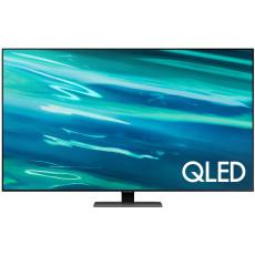 """Телевизор QLED 75 """" SAMSUNG QE75Q80AAUXUA, Black"""