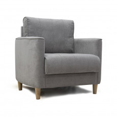 Scaun lounge Нижегородмебель Лора Арт. ТД 328, серебристо-серый