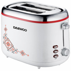 Prăjitor de pâine Daewoo DBT70TR, White/picture