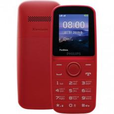 Telefon mobil Philips Xenium E109 Dual Sim, Red