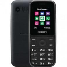 Telefon mobil Philips Xenium E125, Black