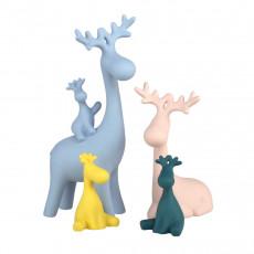Set de statuete Deco Cerbi color