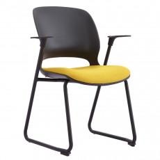 Scaun birou NEO, Black/Yellow