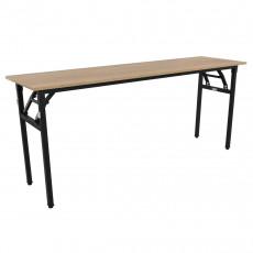 Masă de birou 180x50cm, Wood/black
