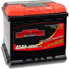 Baterie auto Snaider 45 Ah Plus (+левый )