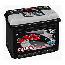 Baterie auto 62 Ah Sznajder 62 Ah CARBON EFB