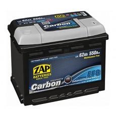 Baterie auto 62 Ah Zap 62 Ah CARBON EFB