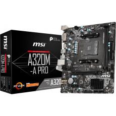 Placă de bază MSI A320M-A PRO (AM4/AMD A320)