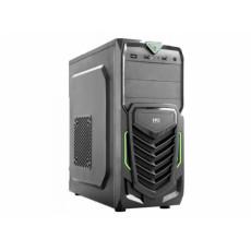 Carcasă HPC B-13, Black/Green (ATX)