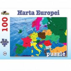 Noriel NOR4681 Puzzle 100 piese Harta Europei Refresh