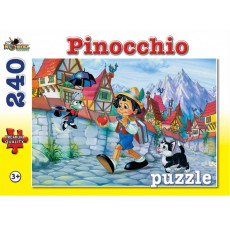"Puzzle Noriel NOR4490 ""Pinocchio"" 240 piese. Colectia Povesti."