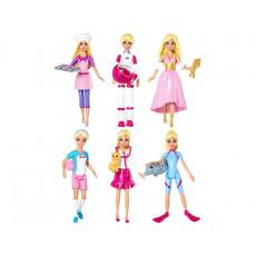 """Mattel Barbie CCH54 Papusa Barbie """"Casier"""" seria """"Pot sa fiu"""""""