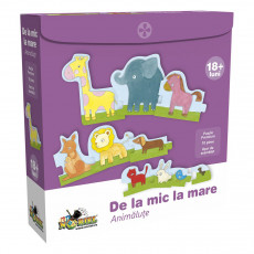Noriel NOR0972 Puzzle Dela mic la mare-Animalute