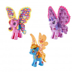 Hasbro B0371 Joc de constructie My Little Pony Pony Pop cu aripi.