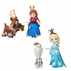 Hasbro Disney Frozen B5185  Set figurine  Elsa / Anna : Prietenii din Regatul de Gheata
