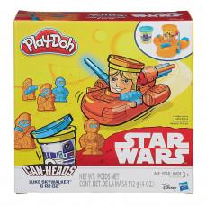 Hasbro B0595 Set de  plastelina Play Doh. Star Wars Cans